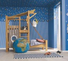 Ozdobna ściana w pokoju dziecięcym