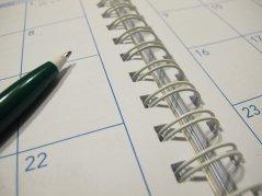 Kalendarz do zapisania